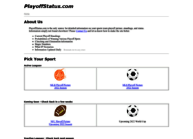 playoffstatus.com