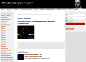 playshakespeare.com