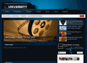 playstationuniversity.com