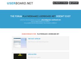 playwebgamez.userboard.net