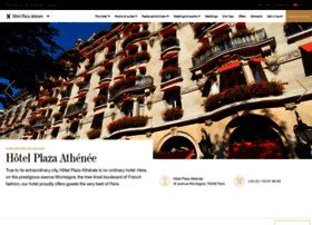 plaza-athenee-paris.com