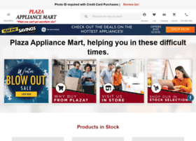 plazaappliancemart.com