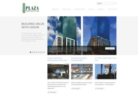 plazaconstruction.com