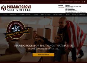 pleasantgroveselfstorage.com