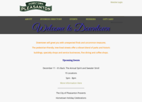 pleasantondowntown.net