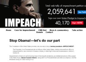pledgetoimpeach.com