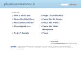 plexuswebservices.in