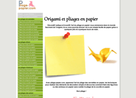 pliage-papier.com