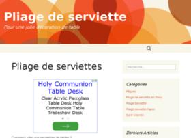 pliage-serviette.info