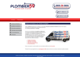 plombier59.fr