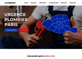 plombierparis.com