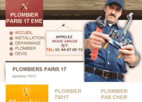 plombierparis17eme.fr
