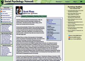 plous.socialpsychology.org