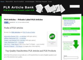 plrarticlebank.com