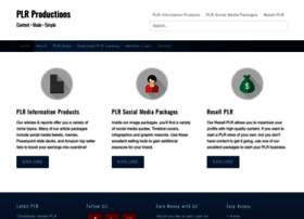 plrproductions.com