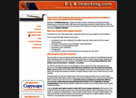plrrewriting.com