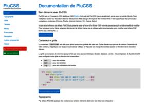 plucss.pluxml.org