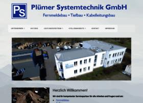 pluemer-systemtechnik.de