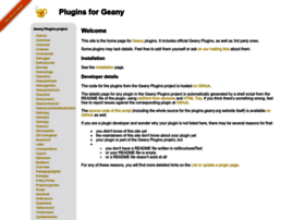 plugins.geany.org
