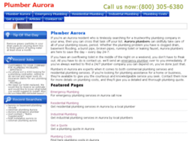 plumber-aurora.com