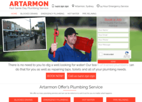 plumberartarmon.com.au
