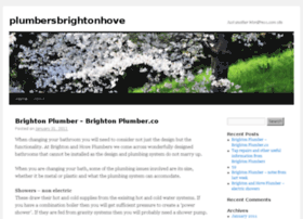 plumbersbrightonhove.wordpress.com