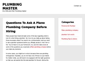 plumbingmaster.net