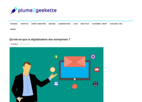 plume2geekette.com