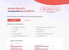 plusar.kazeo.fr