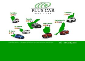 pluscar-lanzarote.com