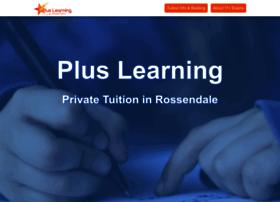 pluslearningtuition.com