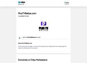 plustvbelize.com