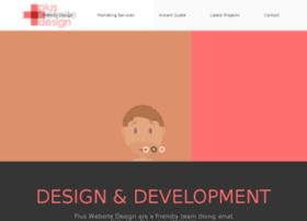 pluswebsitedesign.com