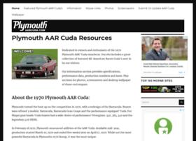 plymouthaarcuda.com