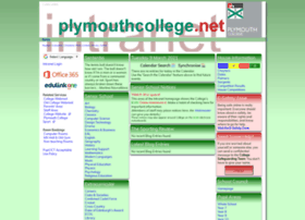plymouthcollege.net