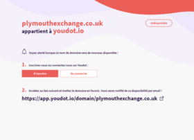 plymouthexchange.co.uk