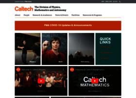 pmaweb.caltech.edu