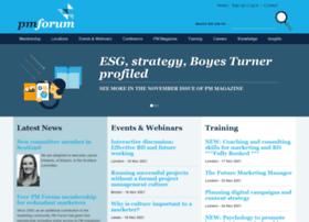 pmforum.co.uk