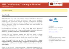 pmpcertificationtraininginmumbai.doattend.com