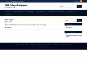 pmscollegepaharpura.com