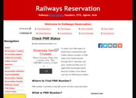 pnrstatus.railwaysreservation.co.in