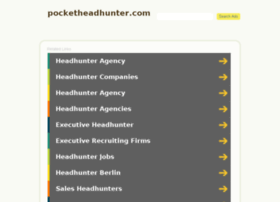 pocketheadhunter.com