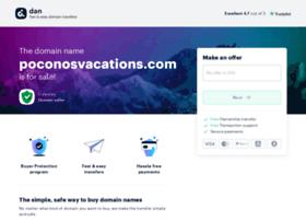 poconosvacations.com
