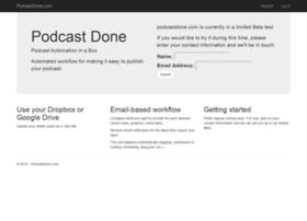 podcastdone.com