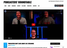 podcastersroundtable.com