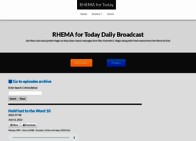 podcasts.rhema.org
