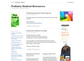 podiatrystudent.net