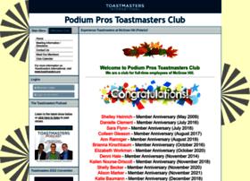 podiumpros.toastmastersclubs.org