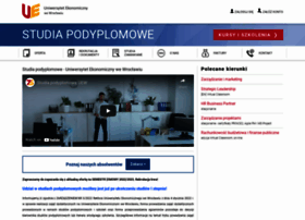 podyplomowe.ue.wroc.pl