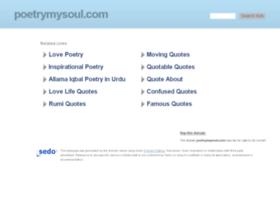 poetrymysoul.com